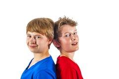 Happy joyful friends enjoy life Royalty Free Stock Photography