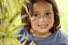 Happy joyful little boy Royalty Free Stock Image