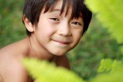 Happy joyful little boy Stock Photo