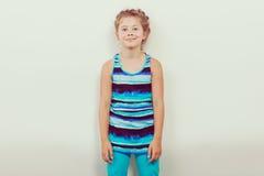 Happy joyful little girl kid. Stock Image