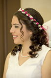 Happy just married bride Stock Photo