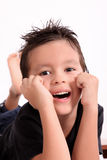 Happy kid Royalty Free Stock Photo