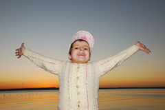 Happy kid royalty free stock photography