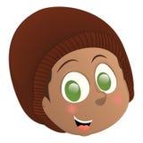Happy kid avatar Stock Photo
