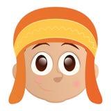 Happy kid avatar Stock Photography