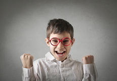 Happy kid stock photography