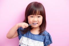 Happy kid girl smile Stock Photography