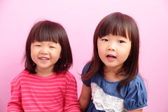 Happy kid girl smile Royalty Free Stock Photos