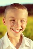 Happy Kid outdoor Stock Photo