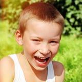 Happy Kid outdoor Stock Photos