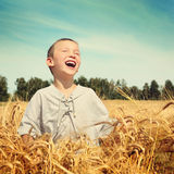 Happy Kid Outdoor Stock Photos