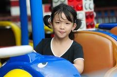 Happy kid playing Stock Image