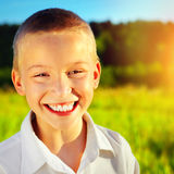 Happy Kid Portrait Royalty Free Stock Images