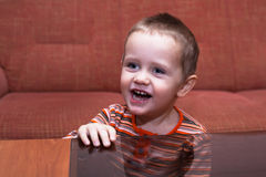 Happy kid smiling Royalty Free Stock Images