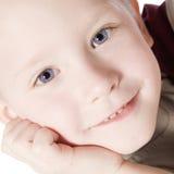 Happy kid thinking Stock Photo
