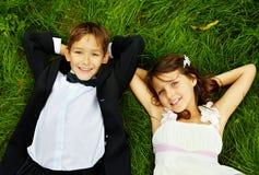 Happy kids stock images