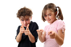 Happy kids. Young happy kids having fun royalty free stock images