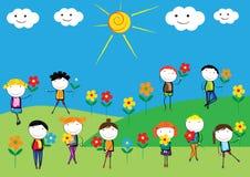 Free Happy Kids Stock Photography - 53982572