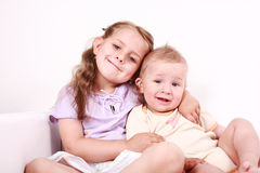 Happy kids Stock Images