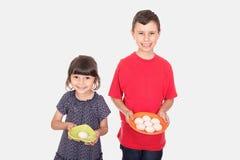 Happy kids celebrating Eid El Fitr Royalty Free Stock Image