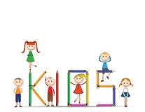 Happy kids Royalty Free Stock Image