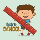 happy kids design Stock Image
