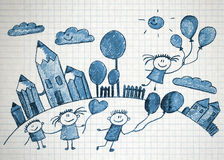 Happy kids Royalty Free Stock Images