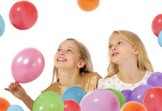 Happy kids playing Stock Images