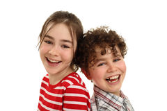 Happy kids smiling Royalty Free Stock Photos