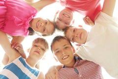 Happy kids stock photos