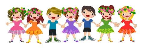 Happy kids  Royalty Free Stock Photo