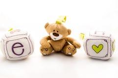 Happy kids toys Royalty Free Stock Photo