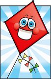 Happy Kite Stock Photo