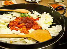 Korea food Stock Image
