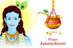 Happy Krishna Janmashtami Royalty Free Stock Image