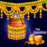 Happy Krishna Janmashtami Stock Photo