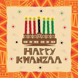 Happy Kwanzaa Stock Images