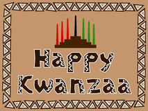 Happy kwanzaa Stock Photo