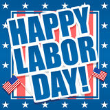 Happy Labor Day. An illustration promoting American Labor Day