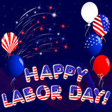 Happy Labor Day. Stock Photography