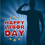 Happy labor day Stock Images