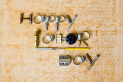 Happy Labor Day background royalty free stock photos