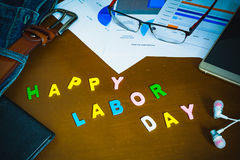 Happy labor day background concept Royalty Free Stock Photography
