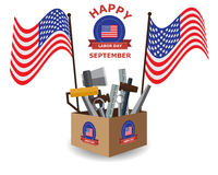 Happy Labor Day Background Royalty Free Stock Photography