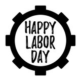 Happy Labor Day banner and giftcard. Royalty Free Stock Images
