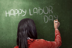 Happy Labor Day Concept Stock Images
