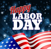 Happy Labor Day Design Royalty Free Stock Images