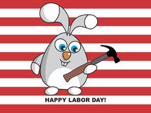 Happy Labor Day Royalty Free Stock Image