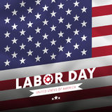 Happy Labor Day. USA flag background. flag. Vector. Stock Image