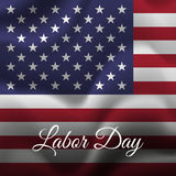 Happy Labor Day. USA flag background. flag. Vector. Stock Photos
